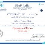Operatore Olistico Professional Siaf Italia